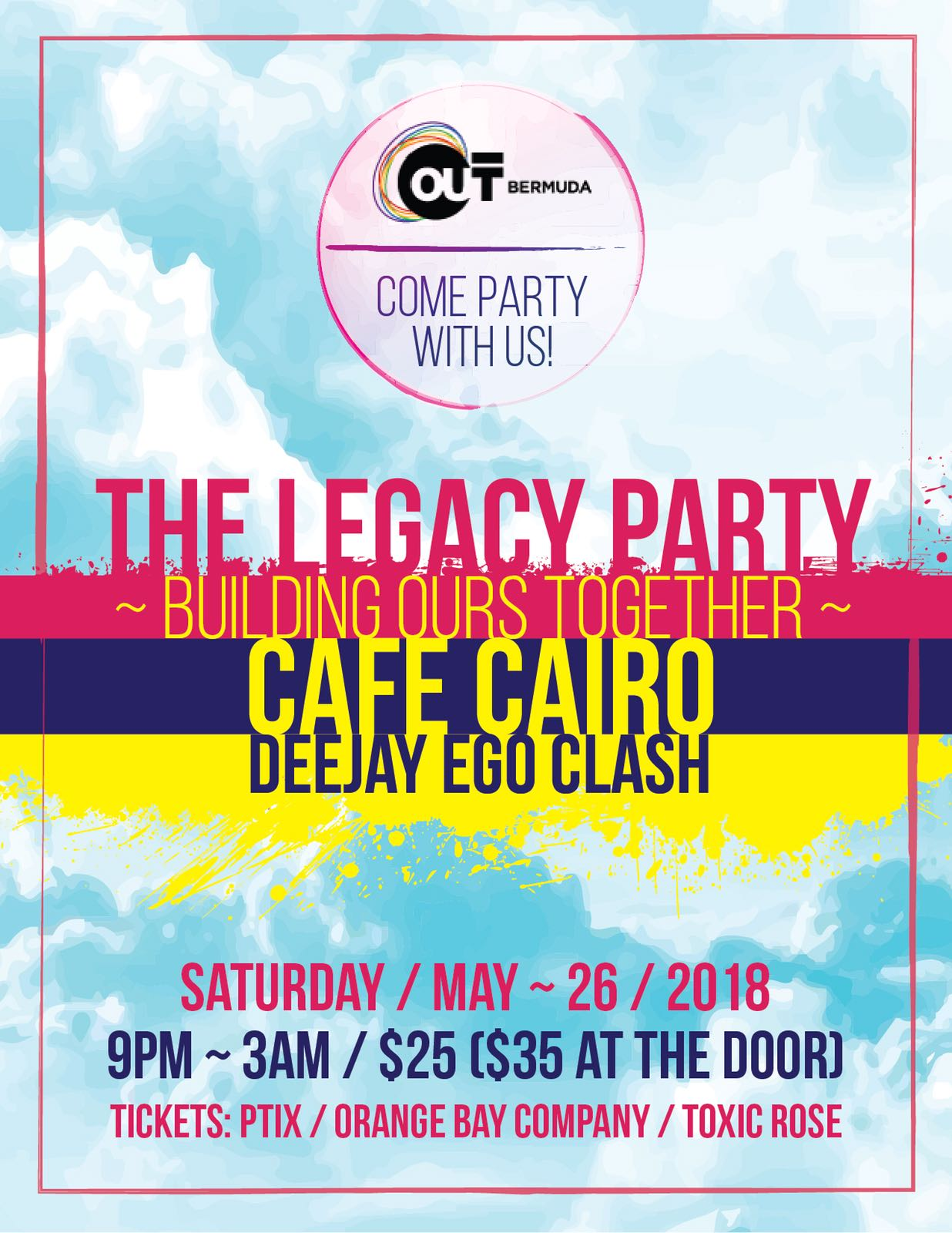 The Legacy Party - Cafe Cairo - DeeJay Ego Clash